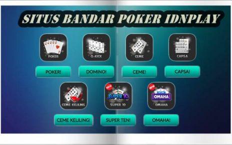 Daftar & Dapatkan Banyak Bonus Di Situs Bandar Poker IDNPlay